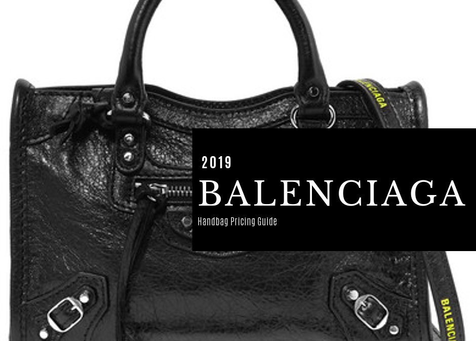 Balenciaga Bag List Price Guide