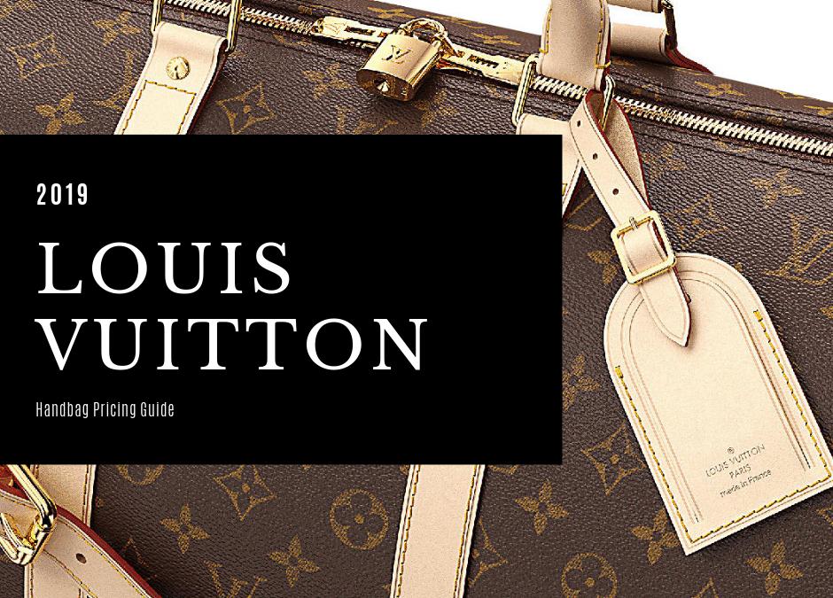 Louis Vuitton Bag Price List Guide