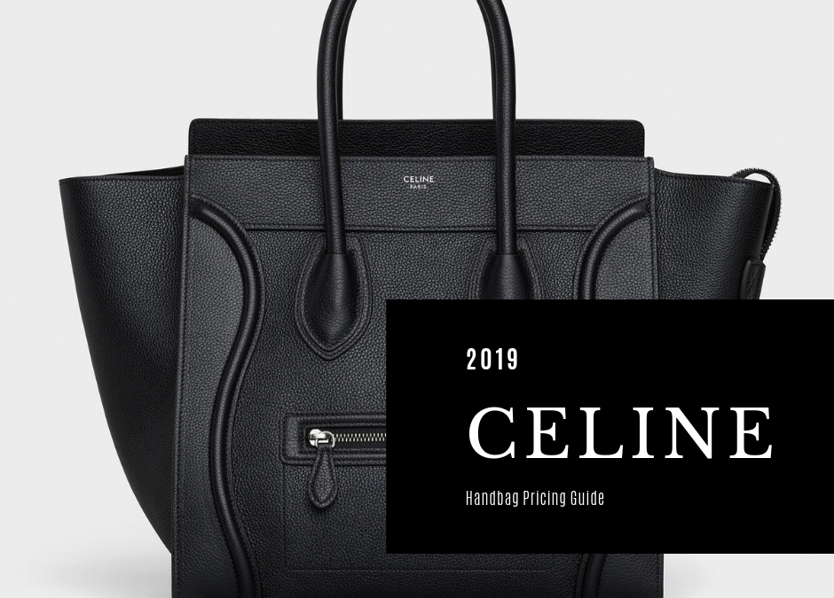 Céline Bag Price List Guide Foxytotes