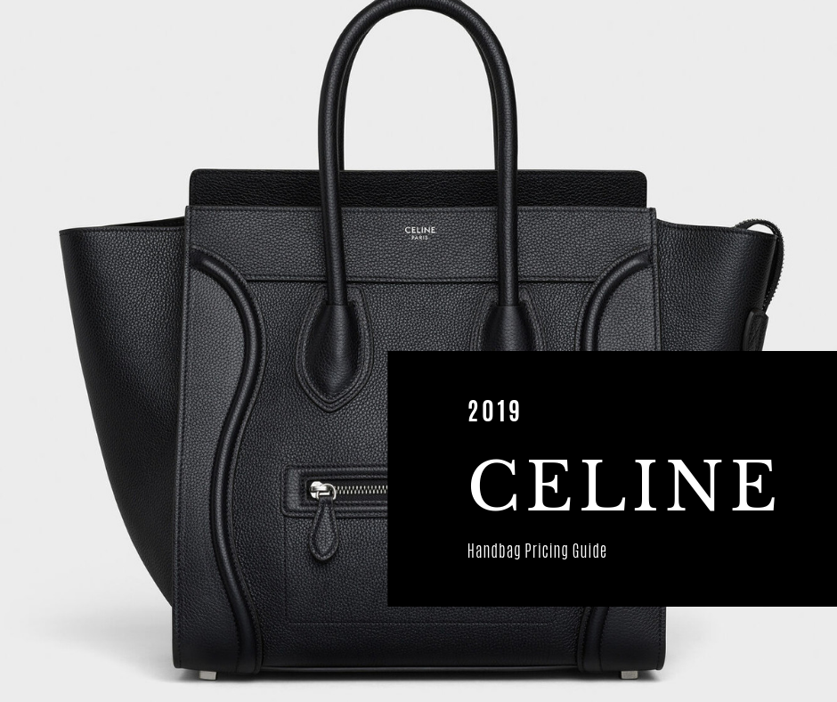 cbe9b23f10e06 The Céline Bag pricing guide below, I believe show clear indications of  which Céline bags will or have been discontinued and which are fully  thriving.