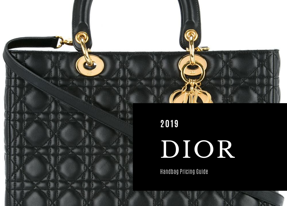 Christian Dior Bag Price List Guide