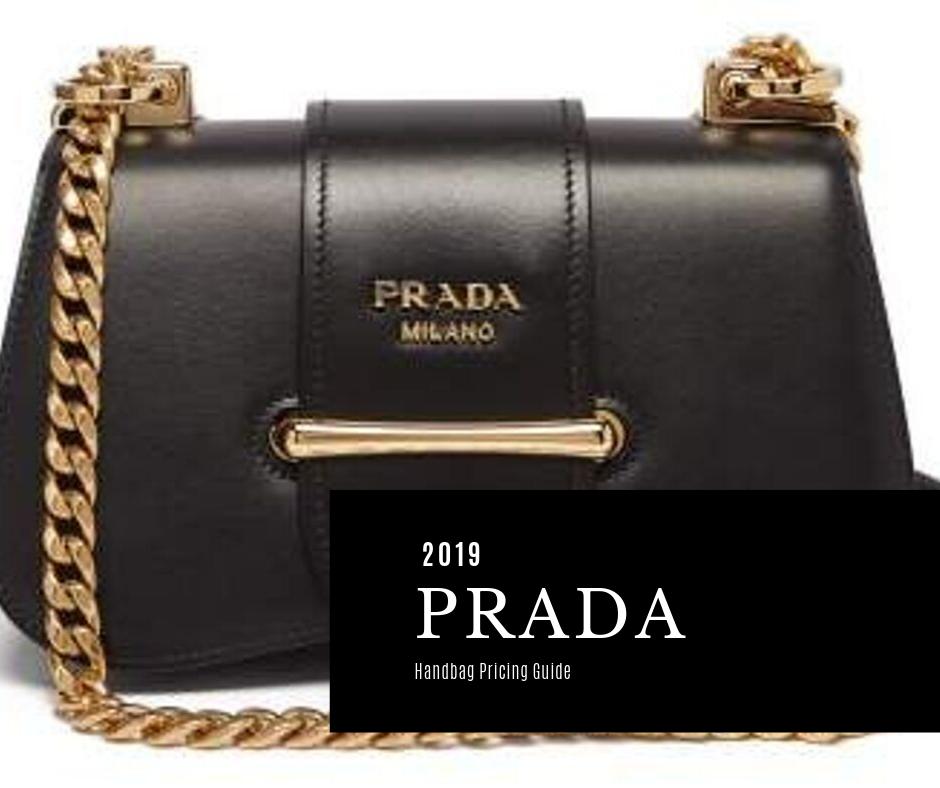Prada Bag Price List Guide 2020 Foxytotes