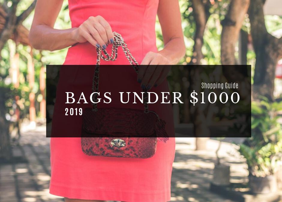 The Best 15 Designer Handbags Under $1,000