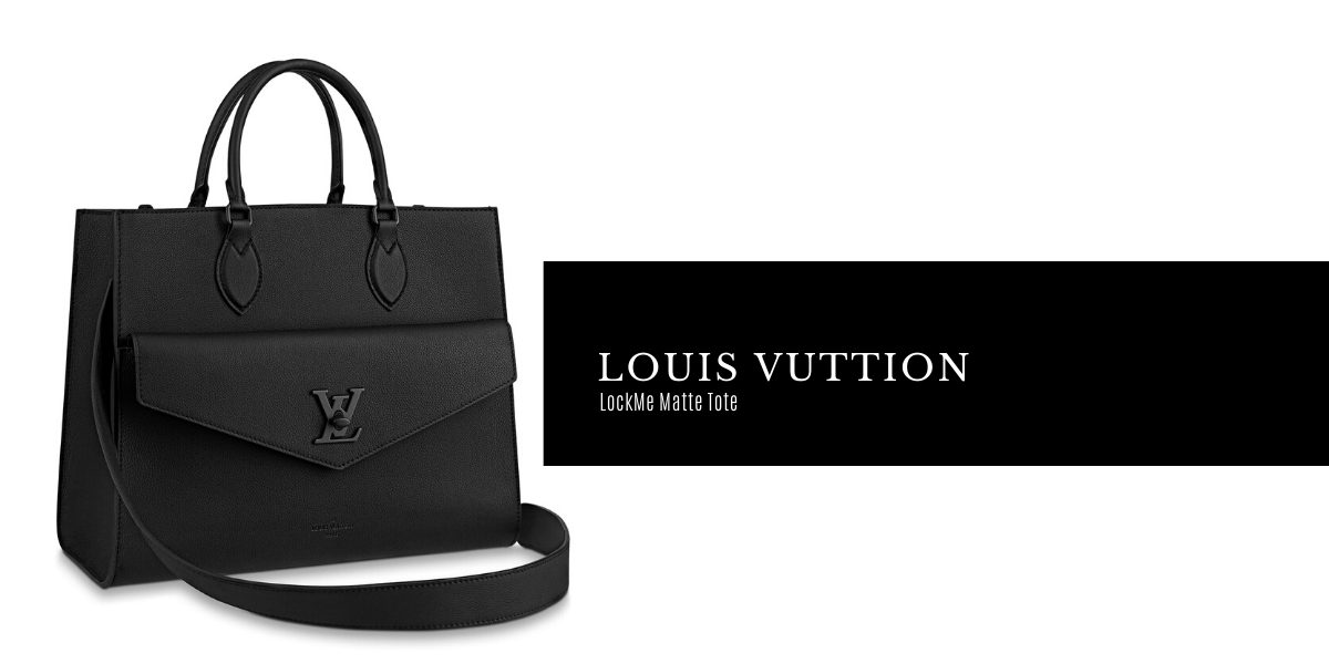 Louis Vuitton LockMe Tote with Matte Hardware
