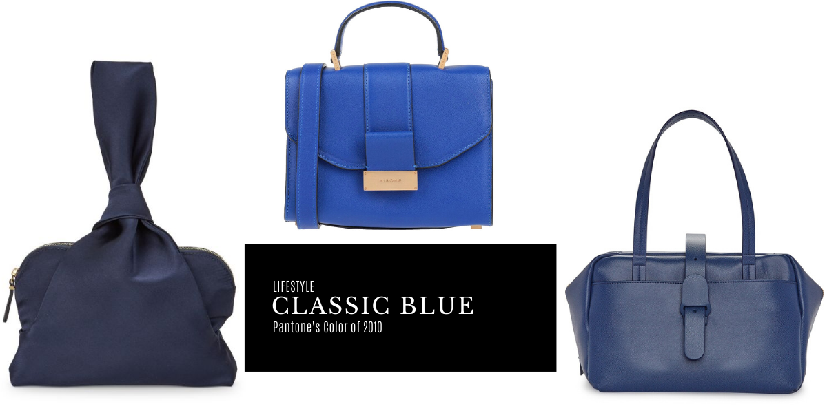 14 Bags Inspired by Pantone's 2020 Color of the Year: Classic Blue